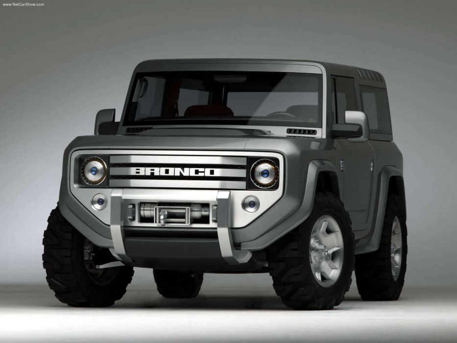 Ford Bronco Concept 2004 wallpaper