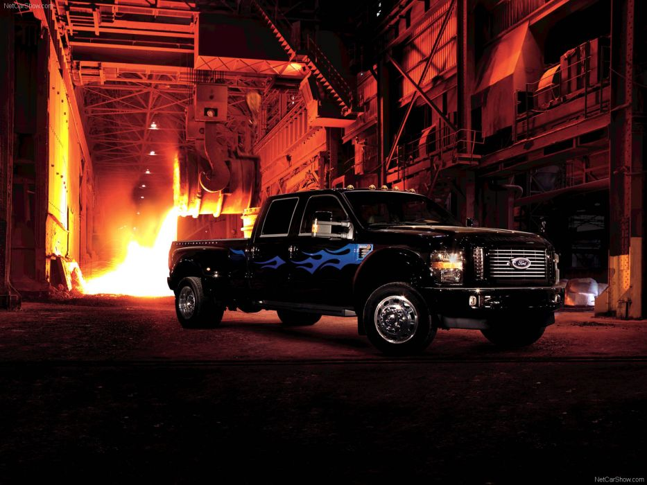 Ford F-450 Harley-Davidson 2009 wallpaper