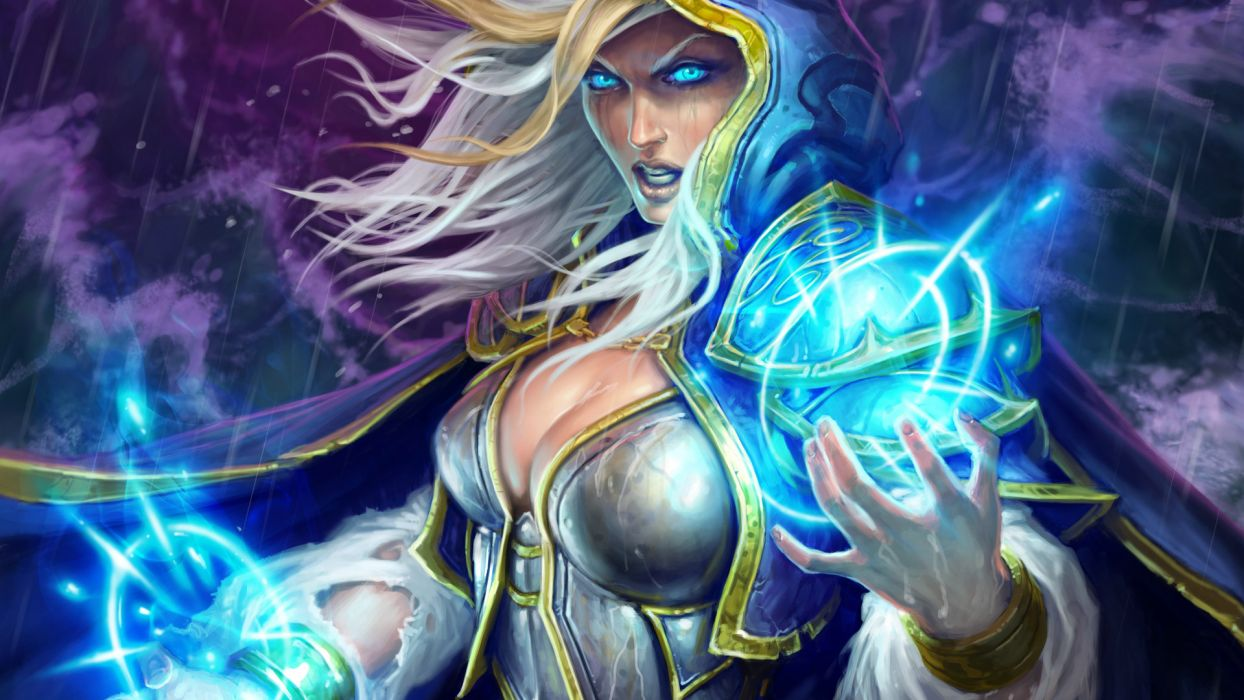 HEARTHSTONE HEROES OF WARCRAFT fantasy world (11) wallpaper