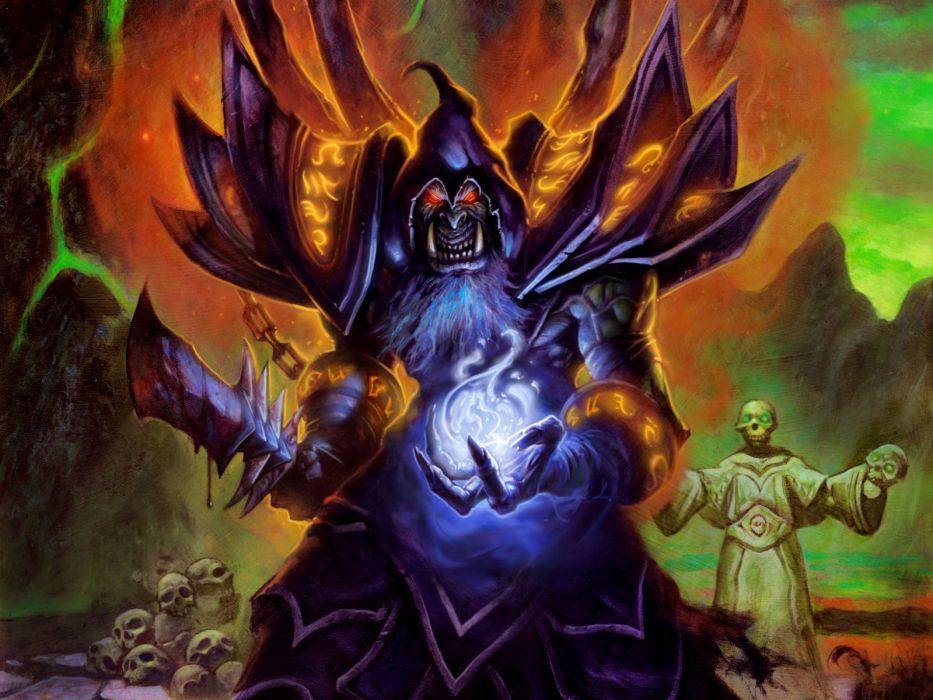 HEARTHSTONE HEROES OF WARCRAFT fantasy world (18) wallpaper