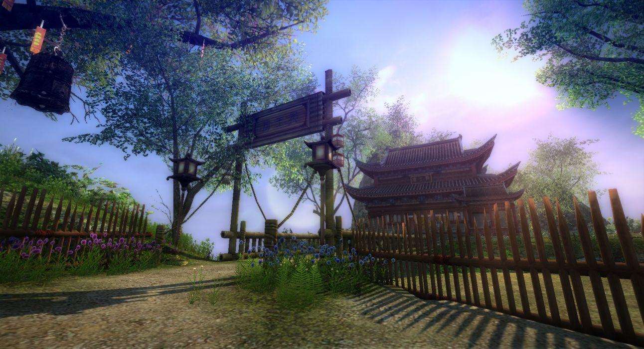 AGE OF WUSHU fantasy wuxia (5) wallpaper