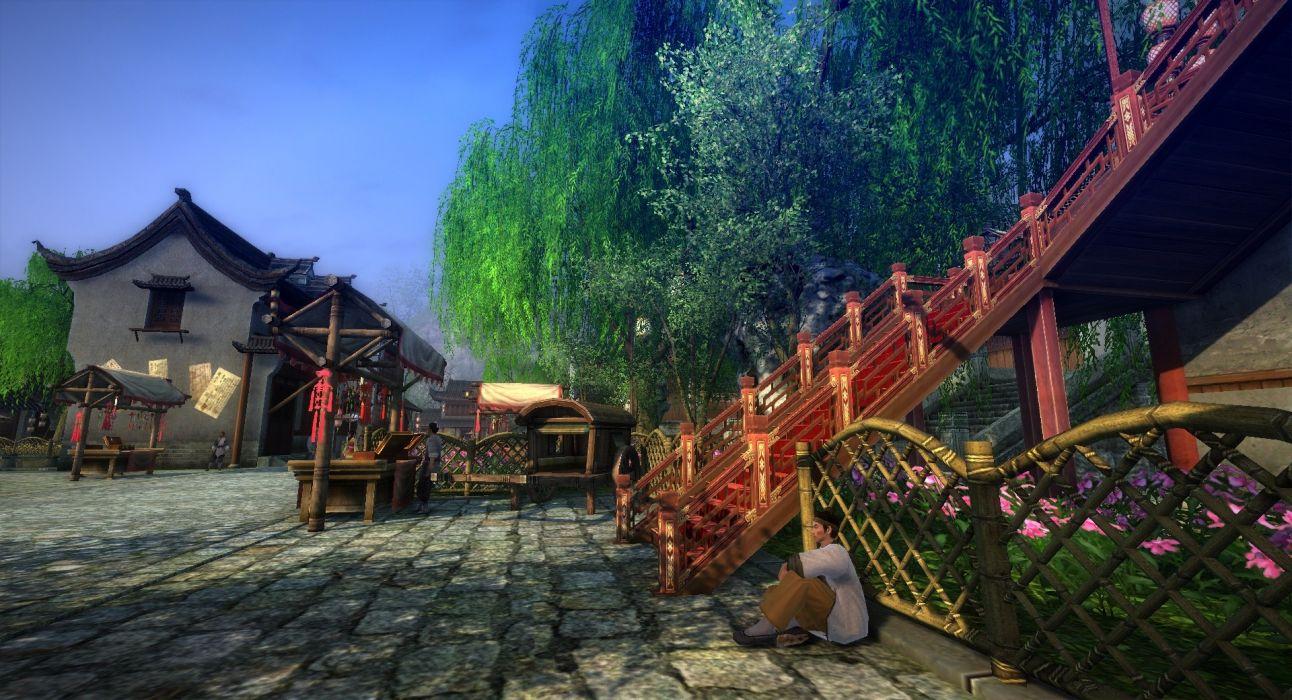 AGE OF WUSHU fantasy wuxia (6) wallpaper