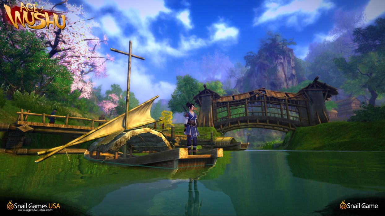 AGE OF WUSHU fantasy wuxia (8) wallpaper