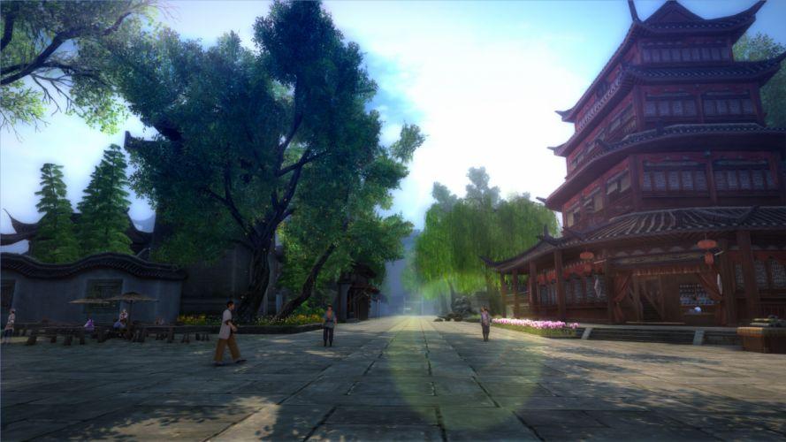 AGE OF WUSHU fantasy wuxia (11) wallpaper