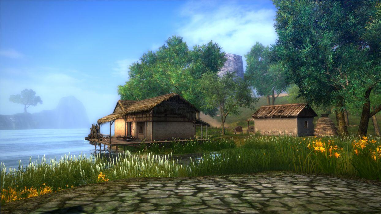 AGE OF WUSHU fantasy wuxia (13) wallpaper
