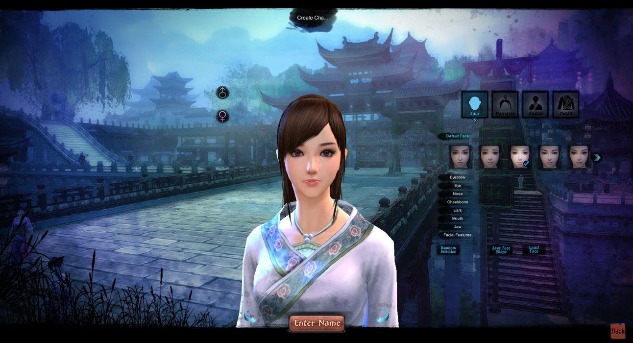 AGE OF WUSHU fantasy wuxia (17) wallpaper