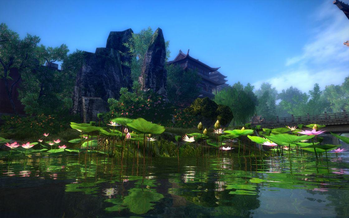 AGE OF WUSHU fantasy wuxia (18) wallpaper