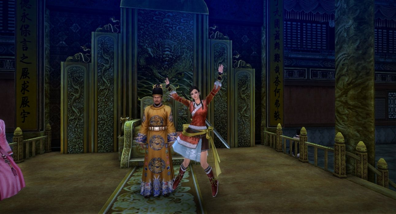 AGE OF WUSHU fantasy wuxia (19) wallpaper