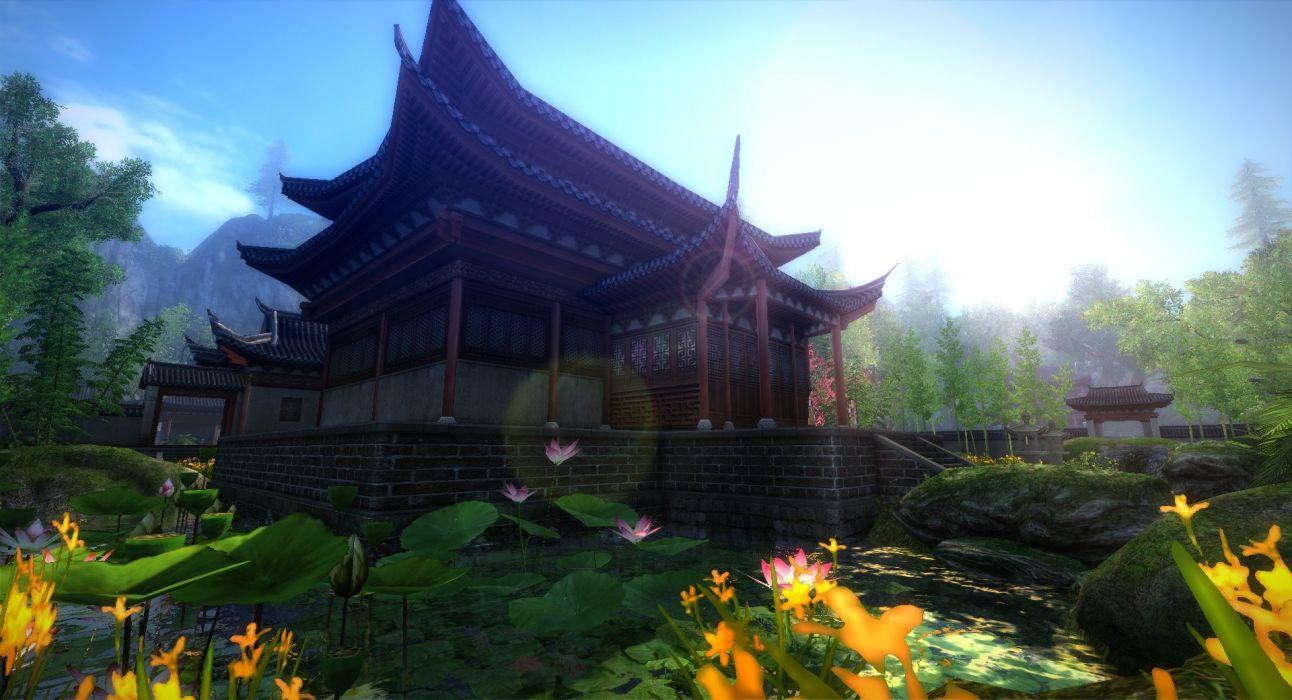 AGE OF WUSHU fantasy wuxia (22) wallpaper