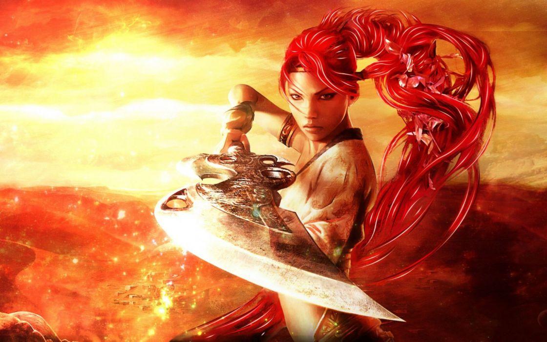 HEAVENLY SWORD fantasy warrior (1) wallpaper