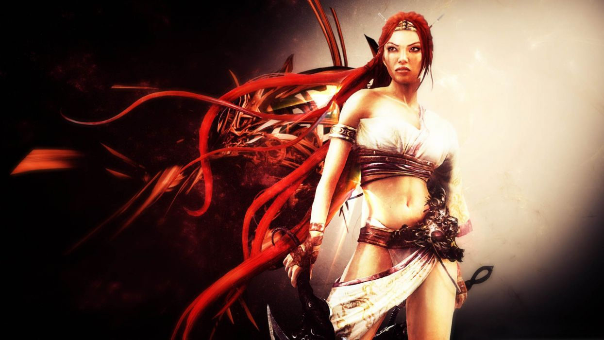 HEAVENLY SWORD fantasy warrior (2) wallpaper