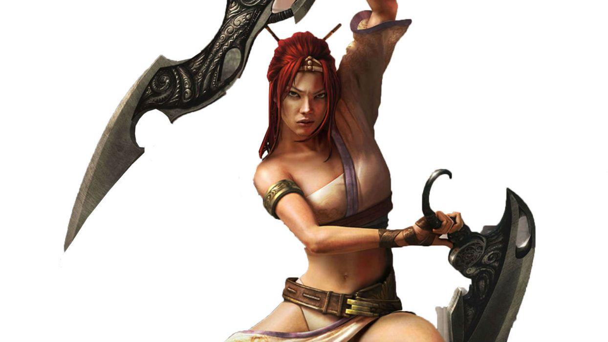 HEAVENLY SWORD fantasy warrior (5) wallpaper