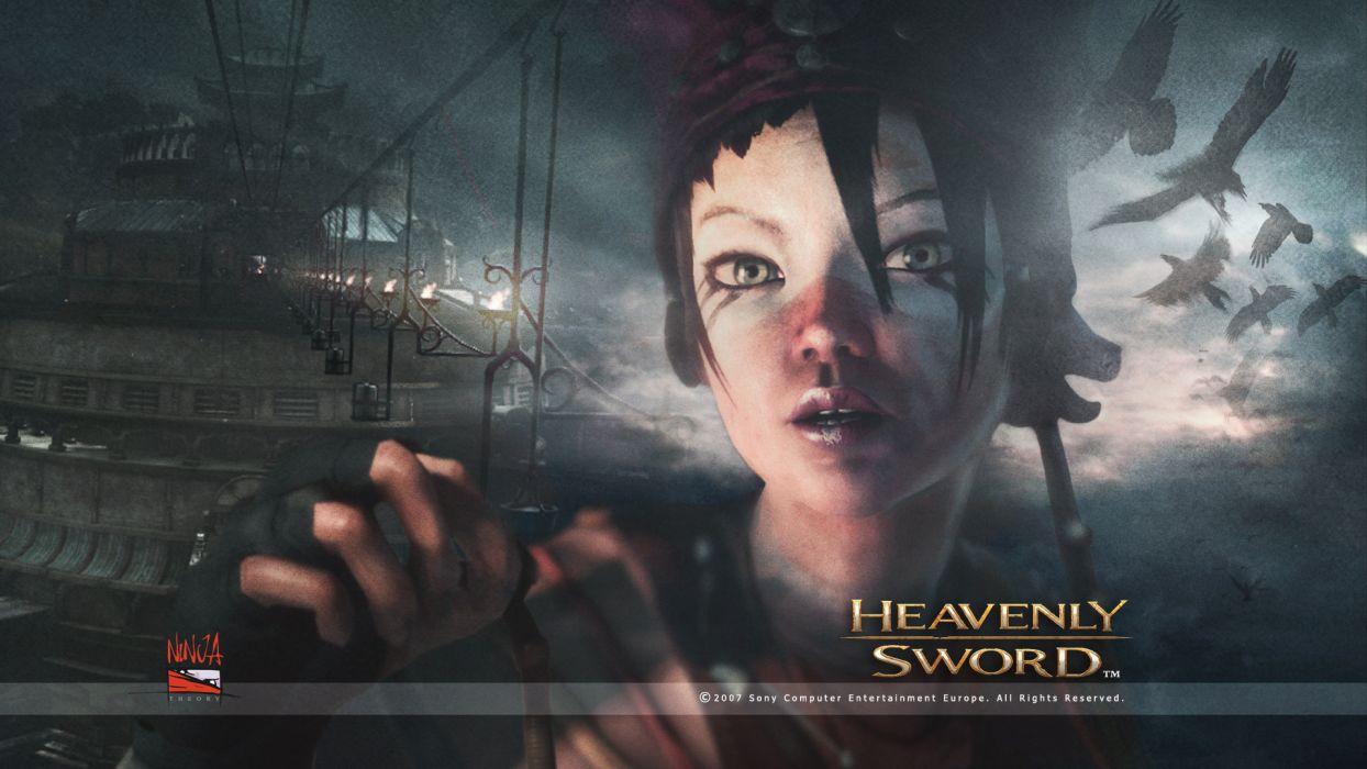 HEAVENLY SWORD fantasy warrior (6) wallpaper