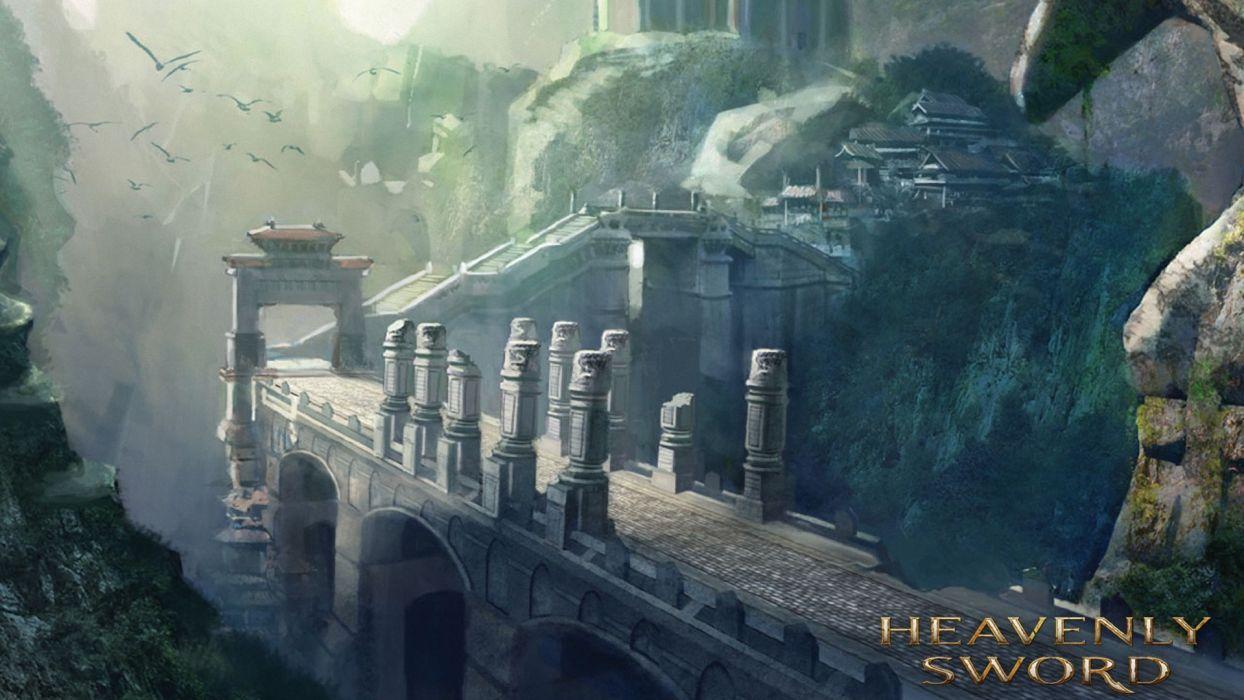 HEAVENLY SWORD fantasy warrior (8) wallpaper
