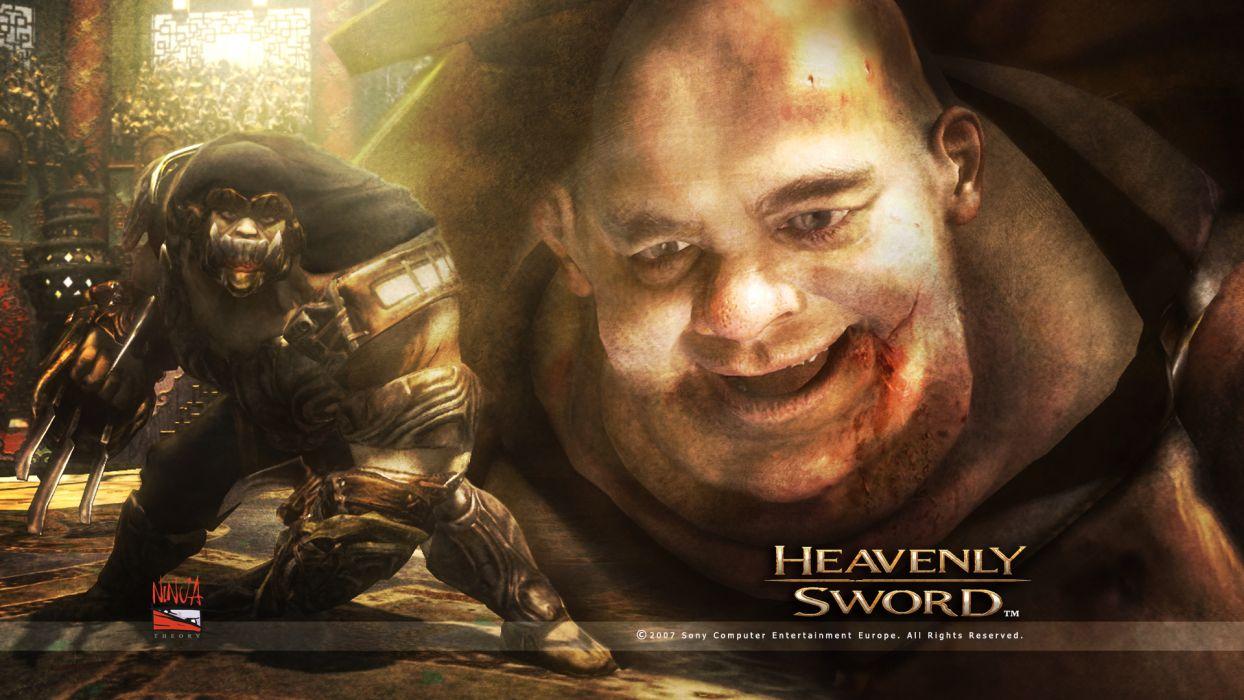HEAVENLY SWORD fantasy warrior (9) wallpaper