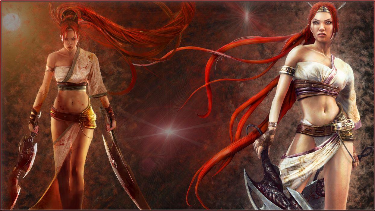 HEAVENLY SWORD fantasy warrior (12) wallpaper