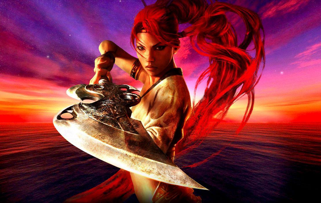 HEAVENLY SWORD fantasy warrior (14) wallpaper