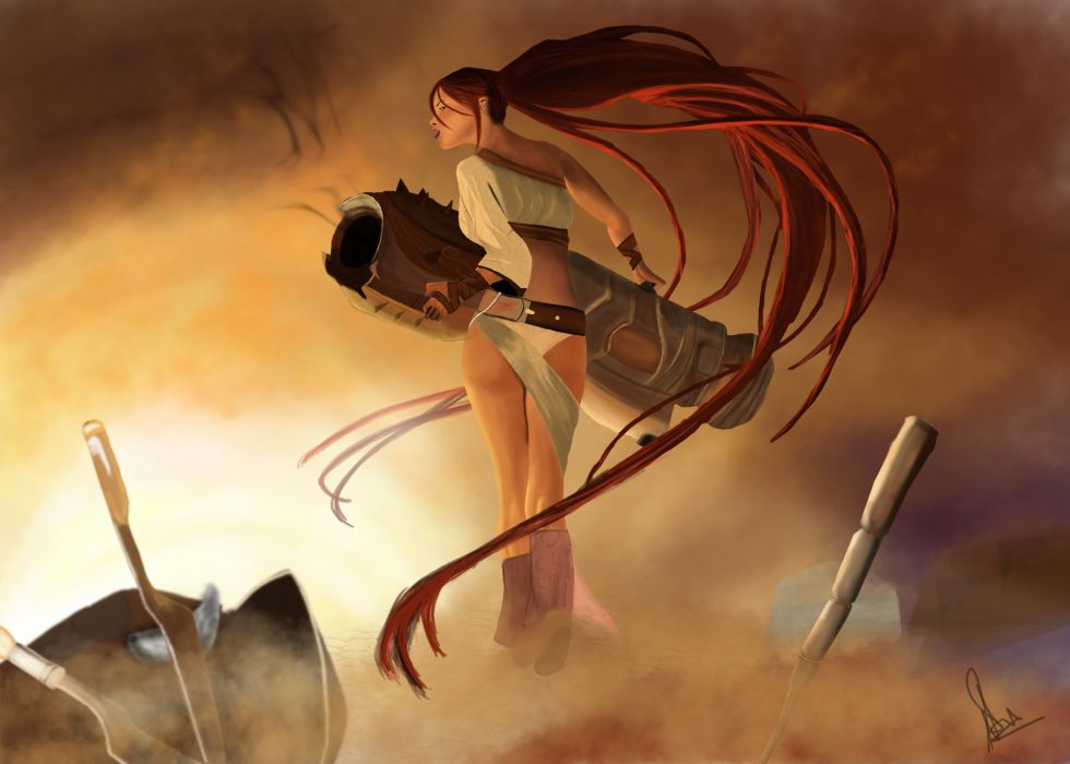 HEAVENLY SWORD fantasy warrior (16) wallpaper