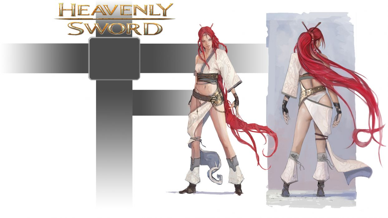 HEAVENLY SWORD fantasy warrior (19) wallpaper