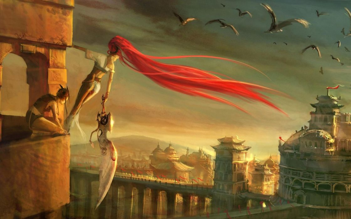HEAVENLY SWORD fantasy warrior (23) wallpaper