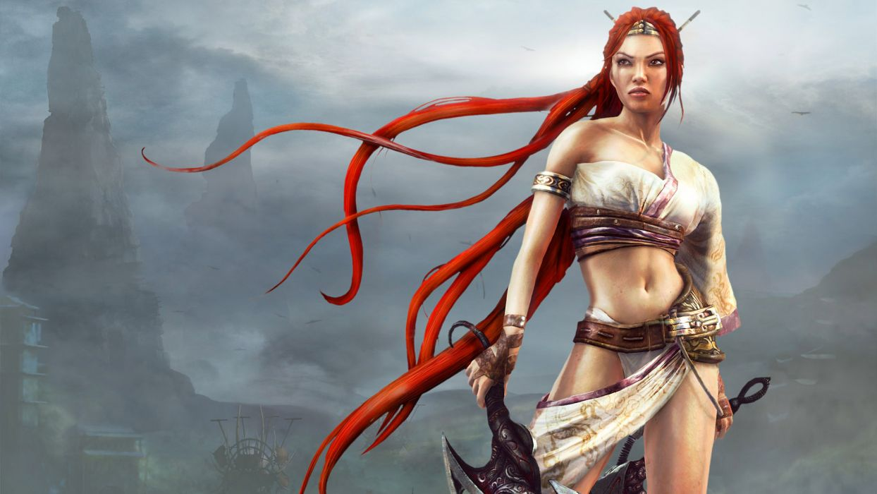 HEAVENLY SWORD fantasy warrior (26) wallpaper