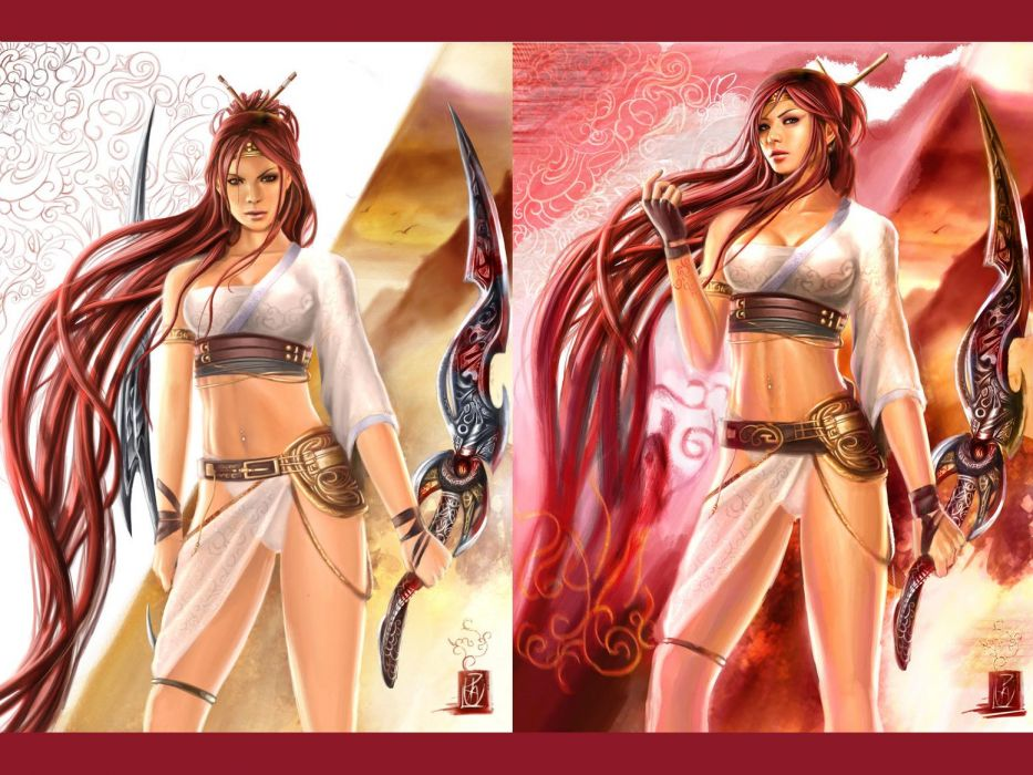 HEAVENLY SWORD fantasy warrior (28) wallpaper
