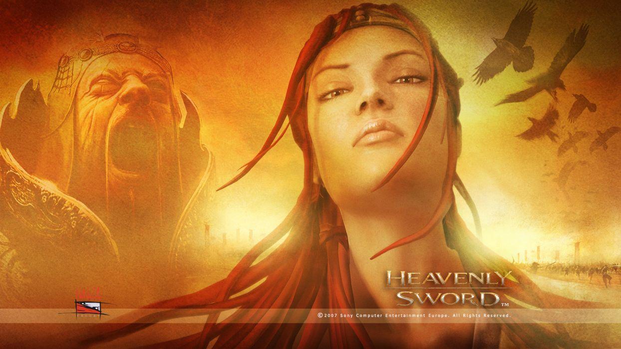 HEAVENLY SWORD fantasy warrior (25) wallpaper
