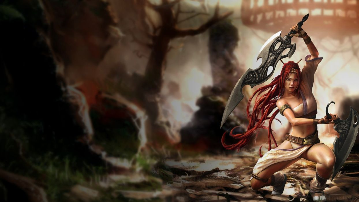 HEAVENLY SWORD fantasy warrior (31) wallpaper