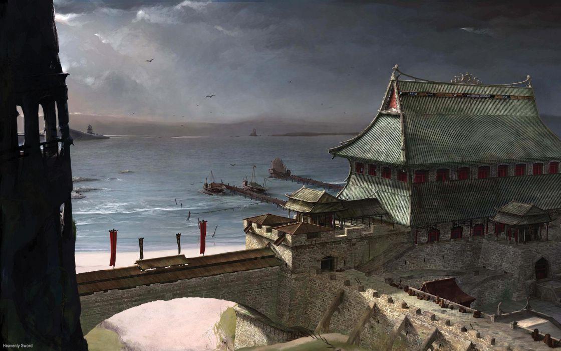 HEAVENLY SWORD fantasy warrior (35) wallpaper