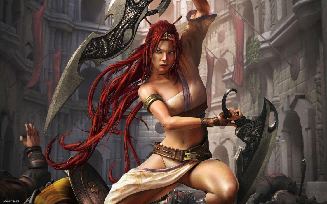 HEAVENLY SWORD fantasy warrior (37) wallpaper