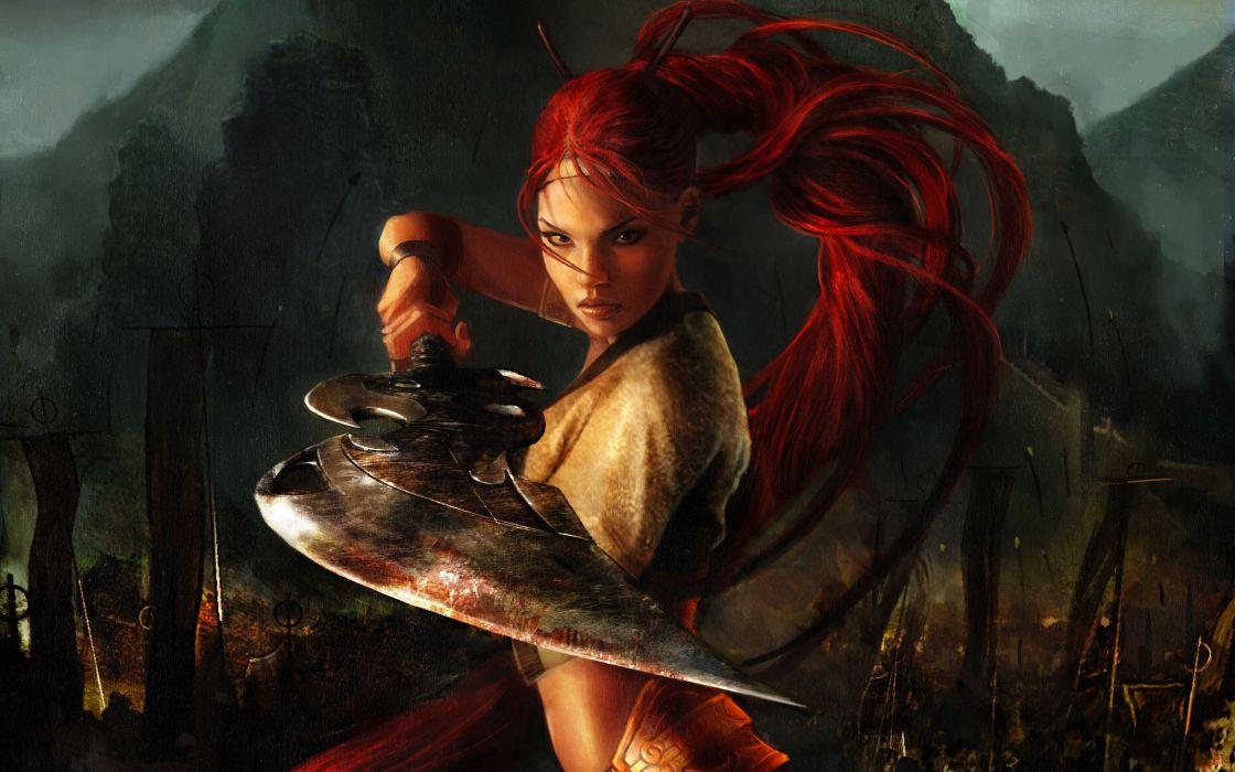 HEAVENLY SWORD fantasy warrior (38) wallpaper