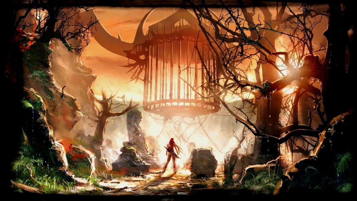 HEAVENLY SWORD fantasy warrior (42) wallpaper