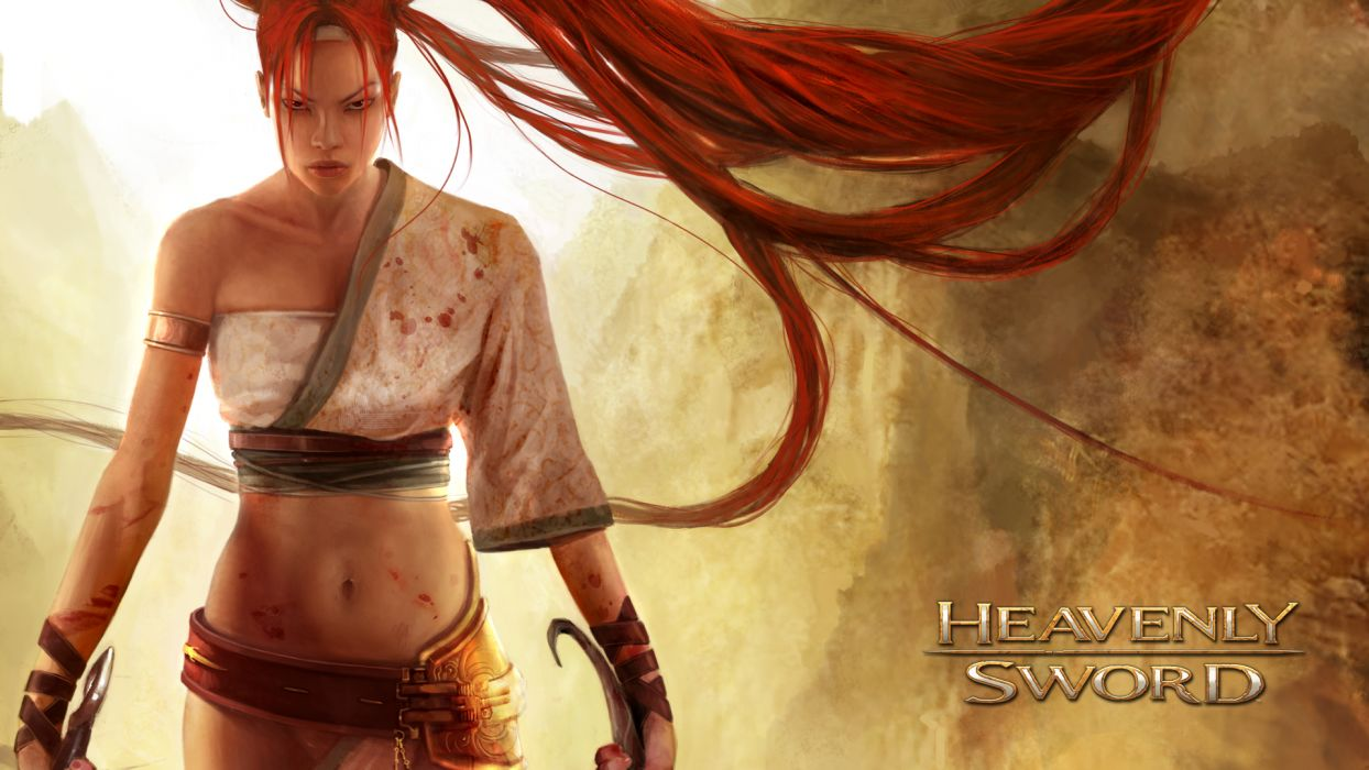 HEAVENLY SWORD fantasy warrior (43) wallpaper
