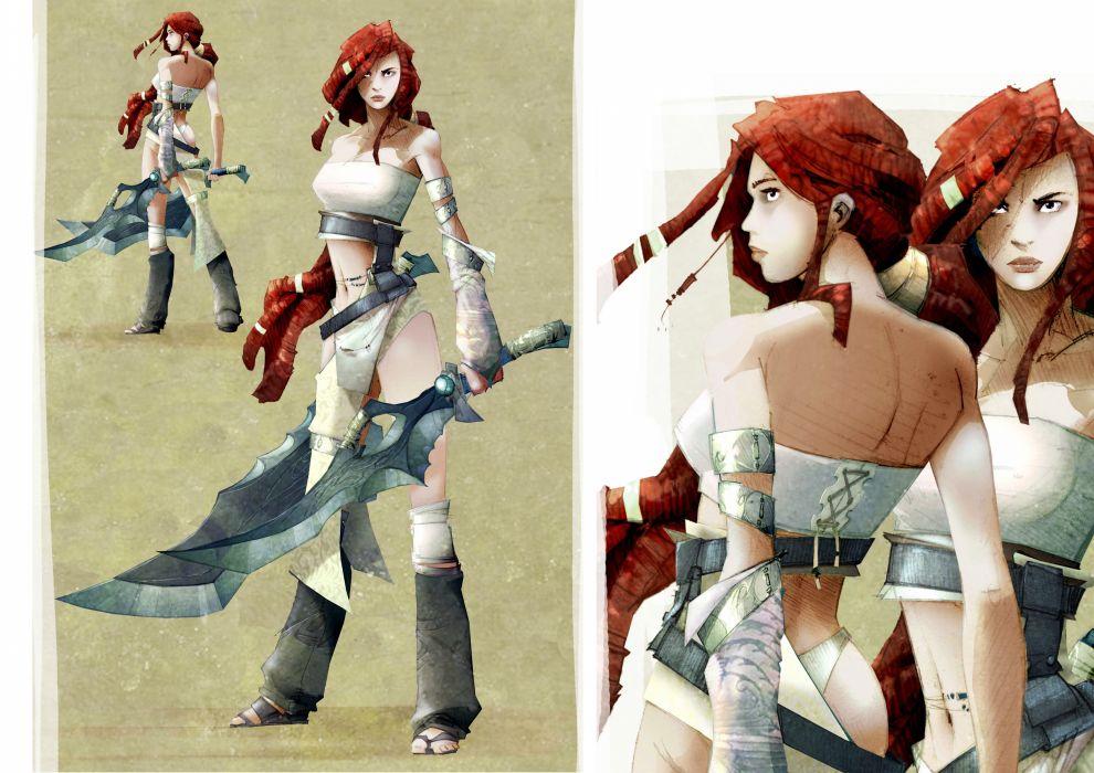 HEAVENLY SWORD fantasy warrior (44) wallpaper