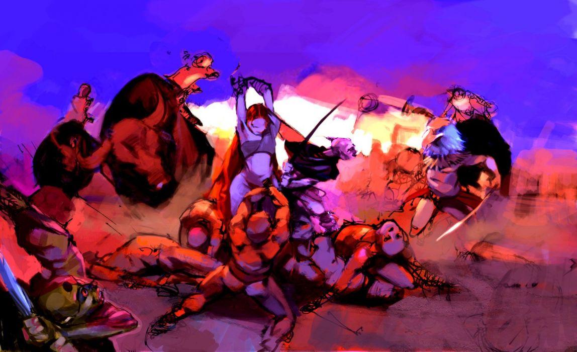 HEAVENLY SWORD fantasy warrior (49) wallpaper