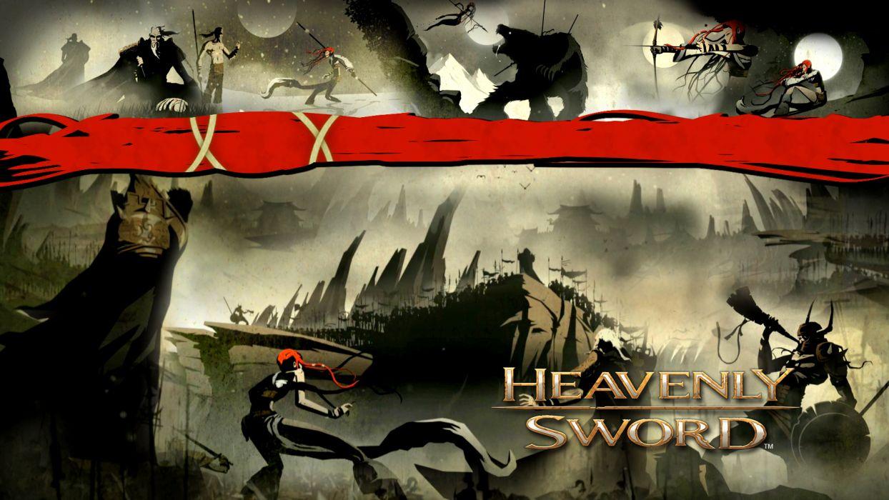 HEAVENLY SWORD fantasy warrior (54) wallpaper