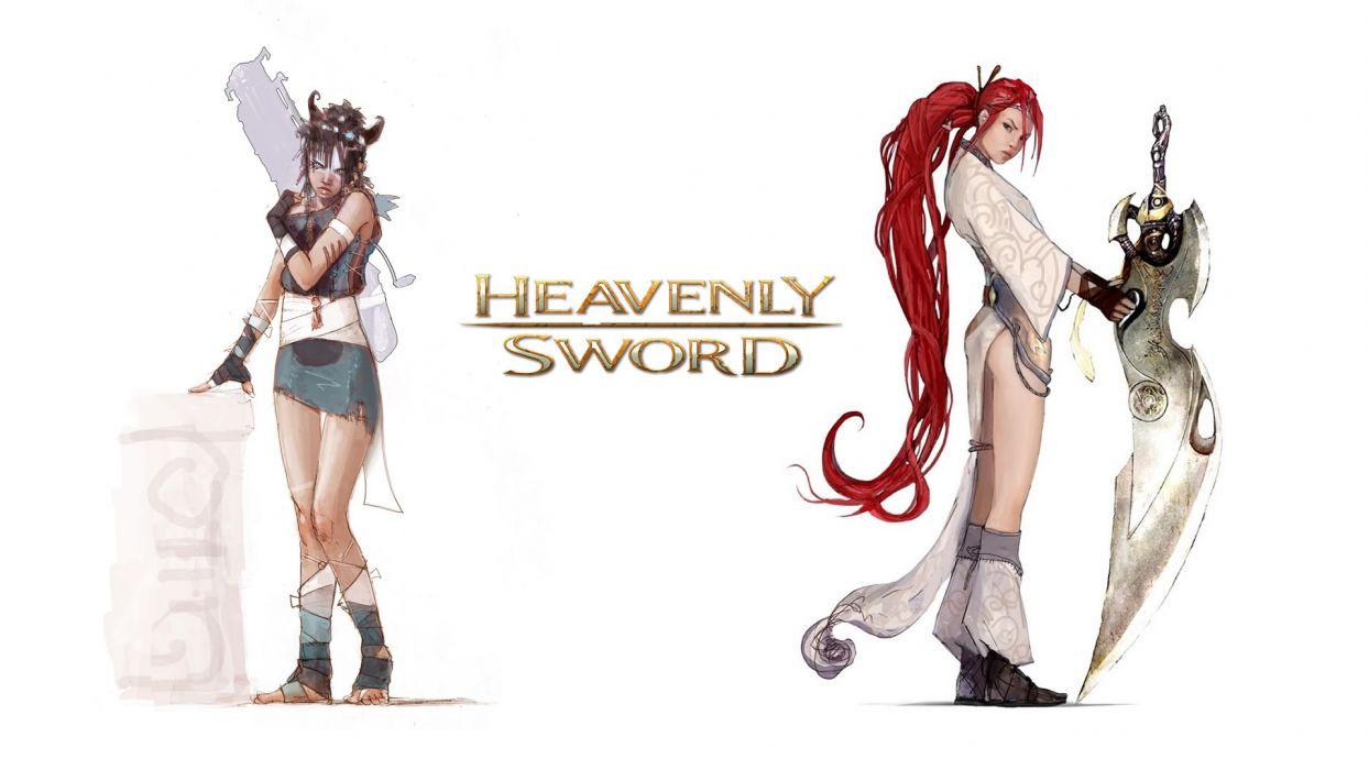 HEAVENLY SWORD fantasy warrior (53) wallpaper