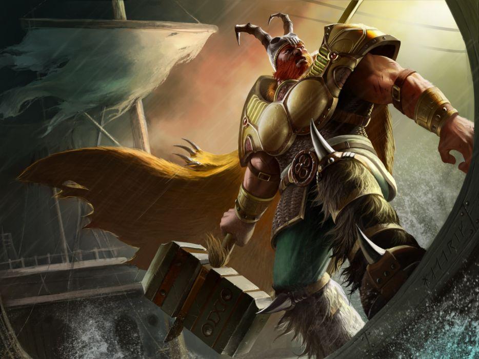 ARENA OF HEROES sci-fi fantasy (10) wallpaper