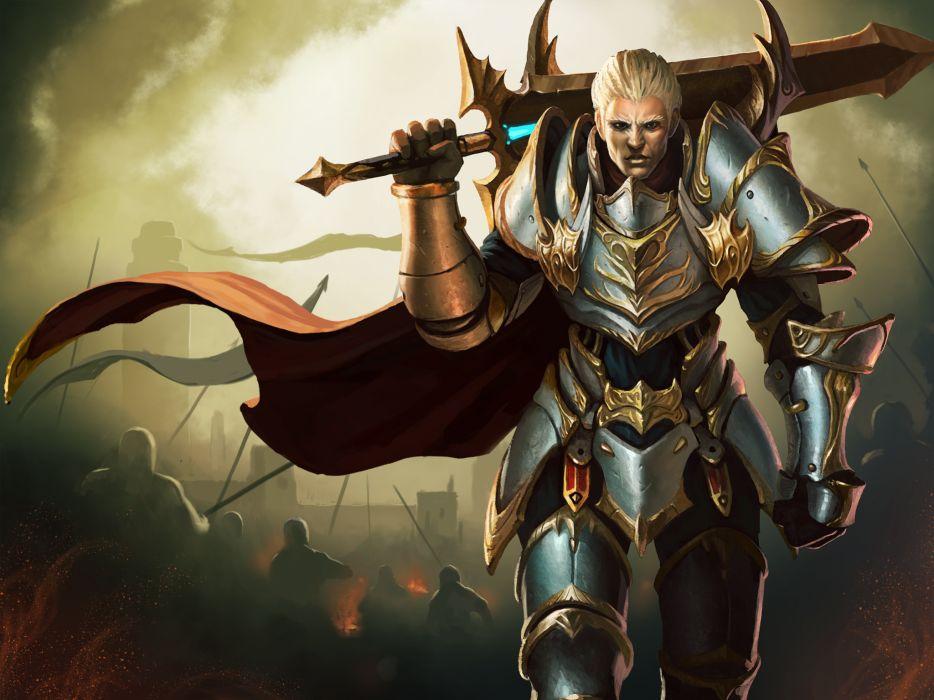 ARENA OF HEROES sci-fi fantasy (12) wallpaper