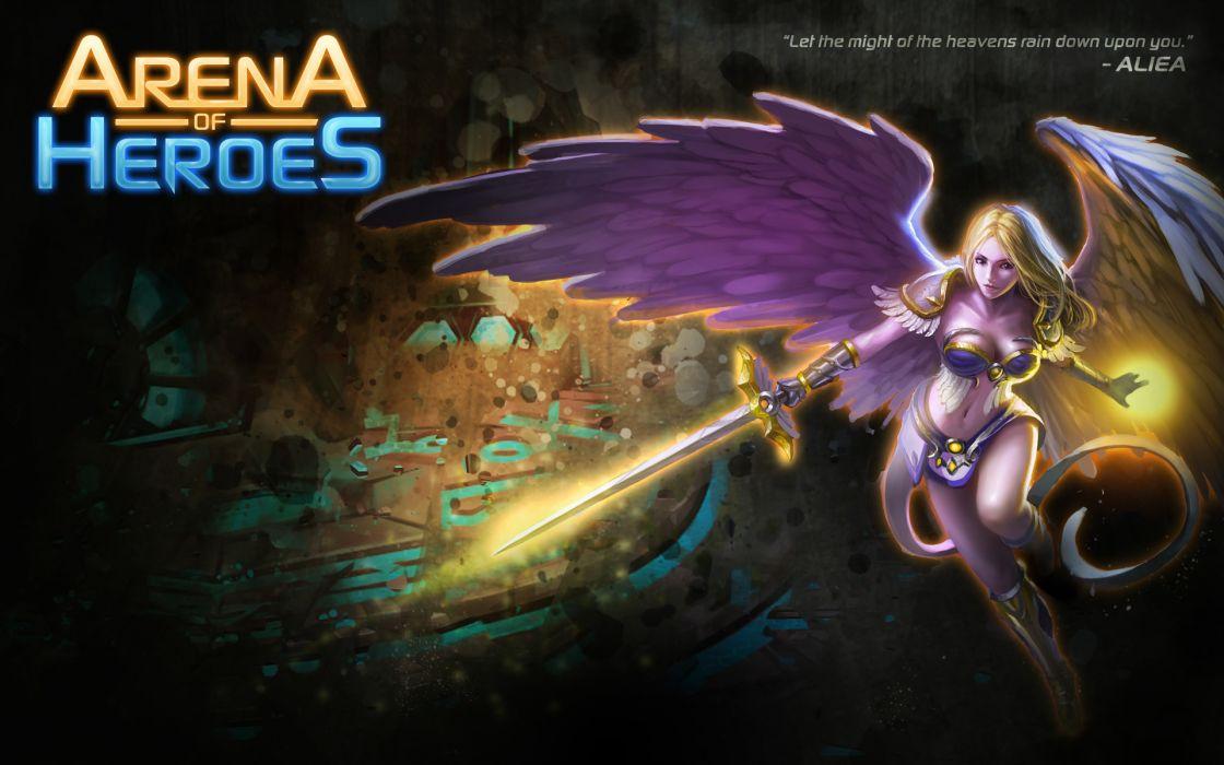ARENA OF HEROES sci-fi fantasy (14) wallpaper