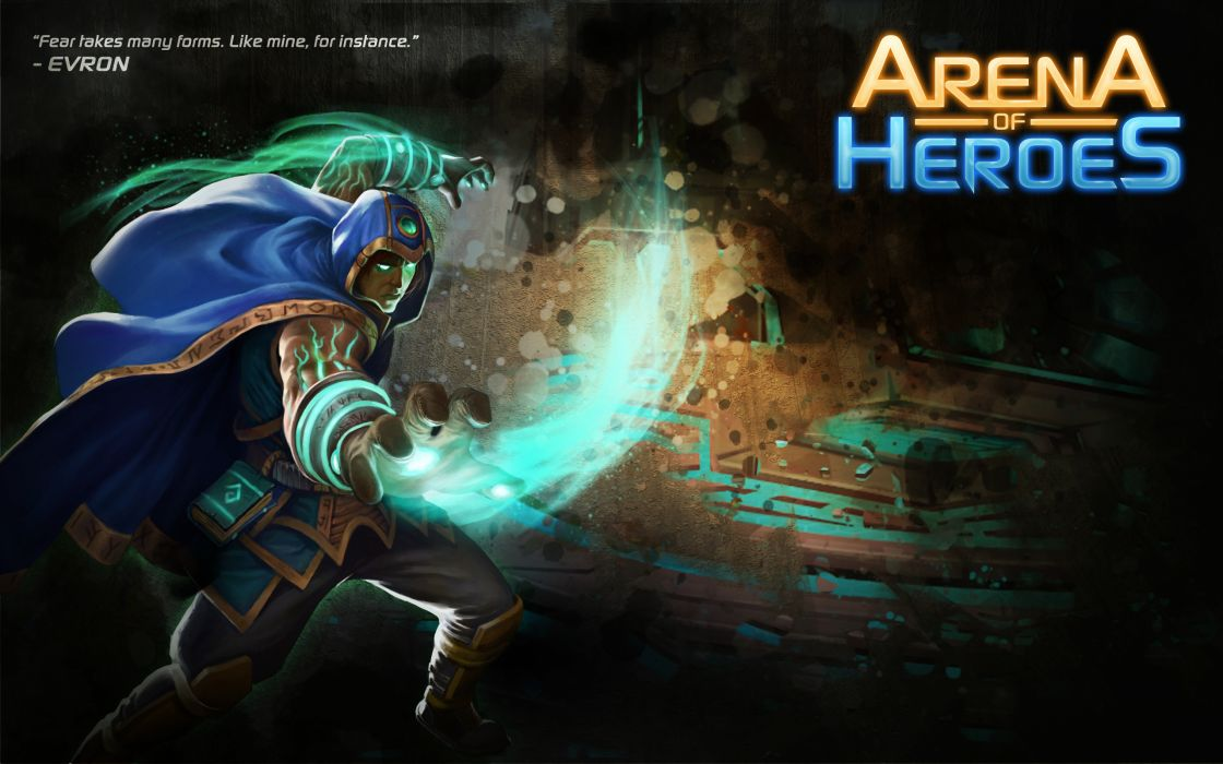 ARENA OF HEROES sci-fi fantasy (15) wallpaper