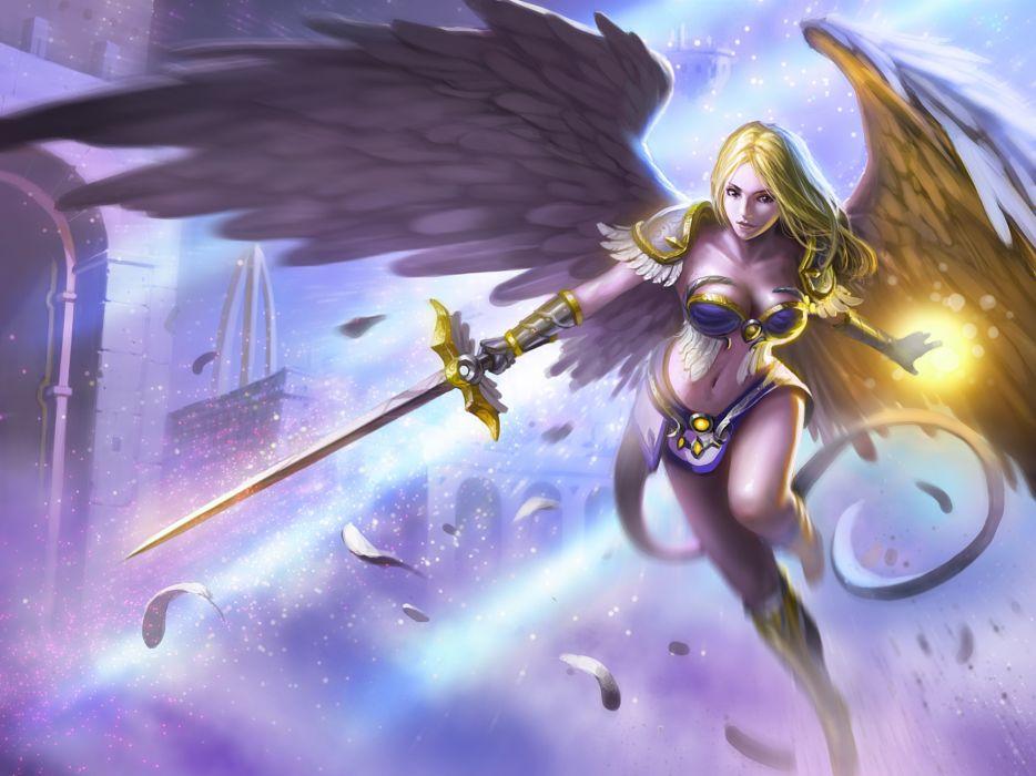 ARENA OF HEROES sci-fi fantasy (20) wallpaper