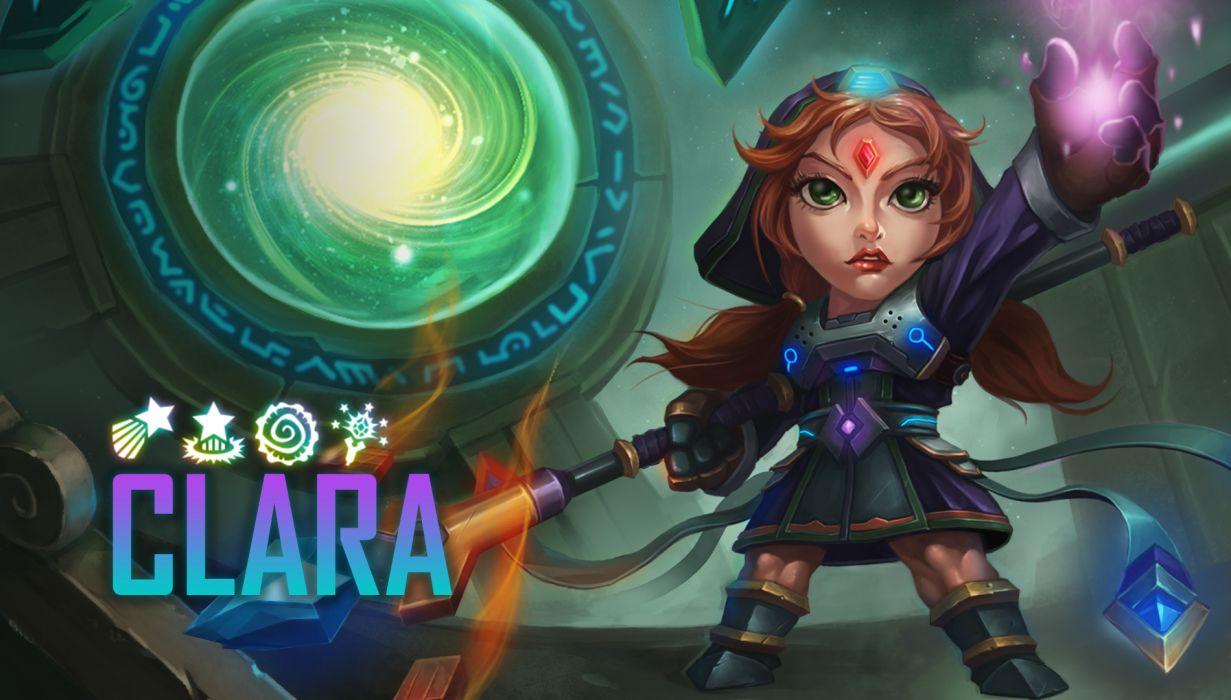 ARENA OF HEROES sci-fi fantasy (25) wallpaper