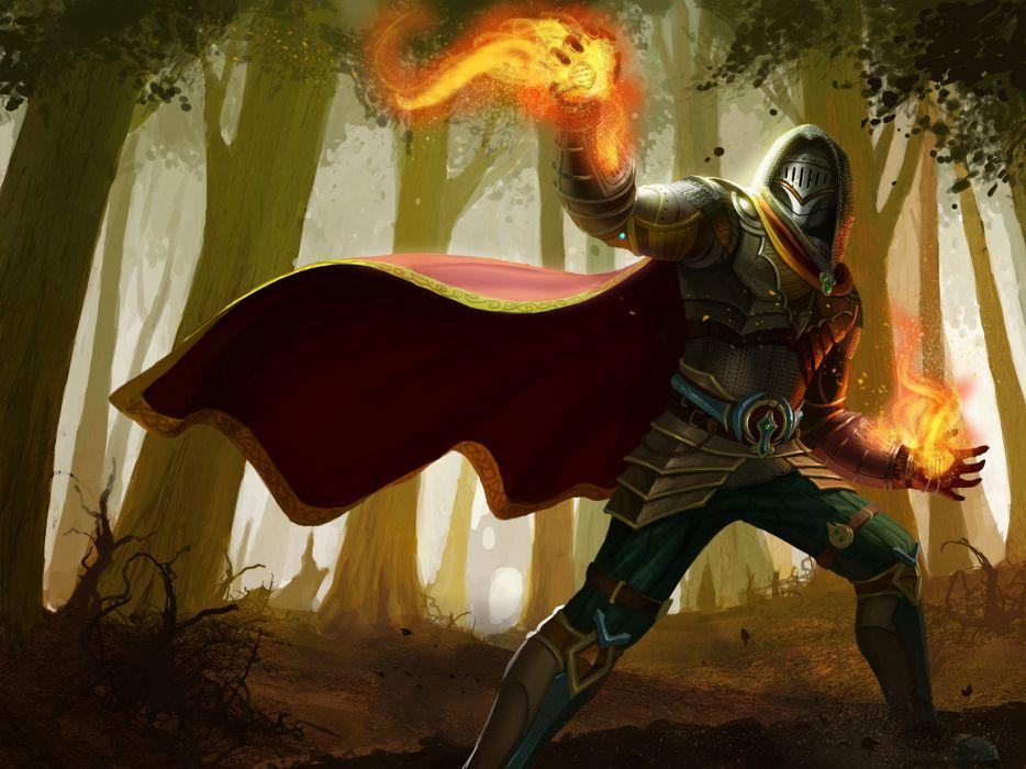 ARENA OF HEROES sci-fi fantasy (30) wallpaper
