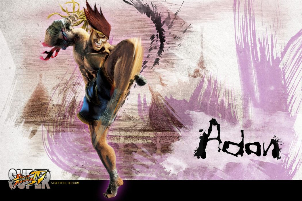 Adon - Super Street Fighter Iv wallpaper