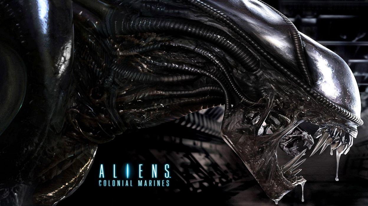 Aliens Colonial Marines- wallpaper