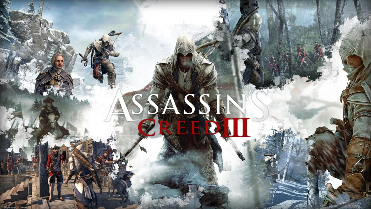 Assassin's Creed III wallpaper
