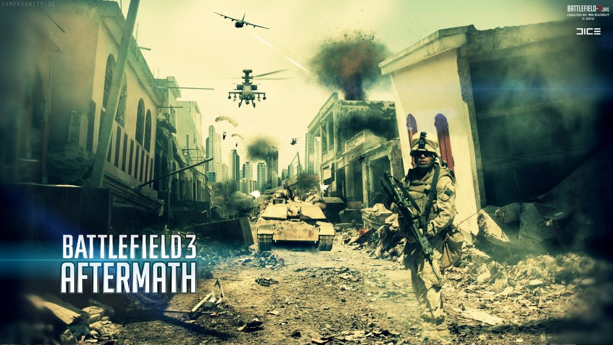 Battlefield 3 Aftermath wallpaper