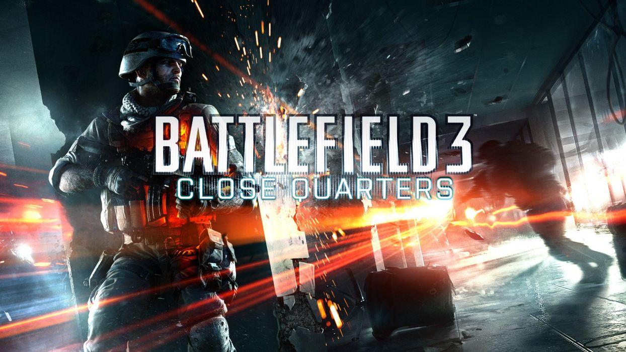 Battlefield 3 Close Quarters wallpaper