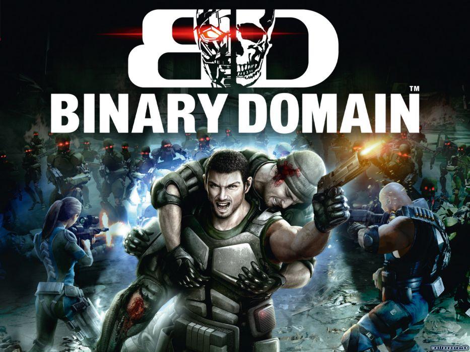 Binary Domain wallpaper